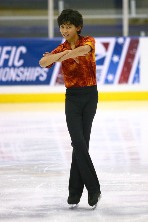 Courtesy QuickSilverShots Utah figure skater Justin Ly is one of what is believed to be a record eight Utah skaters who qualified for nationals this year.