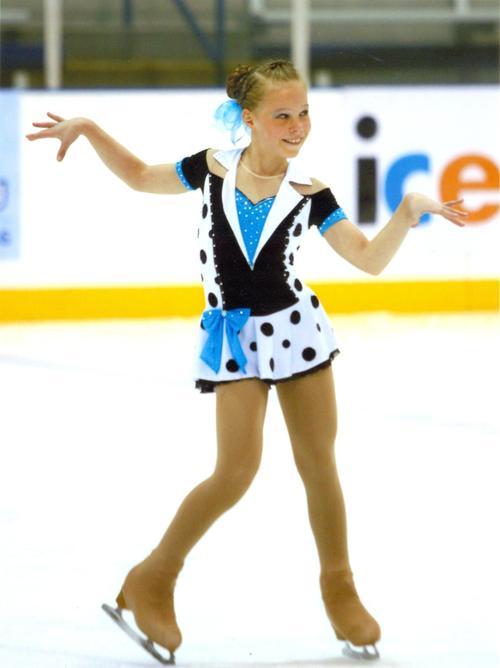 Courtesy QuickSilverShots Anna Grace Davidson is one of eight Utah figure skaters who have qualified for nationals this year.