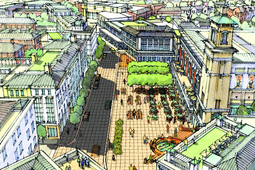 General Growth Properties rendering The 57-acre redevelopment of the old Cottonwood Mall site.