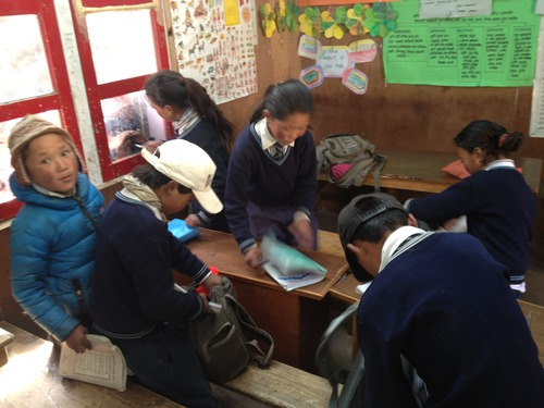 The school in Thame, Nepal, was built by Sir Edmund Hillary in 1963. Apa Sherpa attended the school and then went on to become the world record holder for summiting Mount Everest (21). He now lives in Utah and has started the Apa Sherpa Foundation and plans to renovate the school that now serves more than 70 village children. Courtesy Apa Sherpa Foundation
