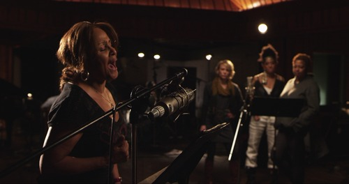 """Darlene Love sings in a scene from """"Twenty Feet from Stardom,"""" playing in the U.S. Documentary competition of the 2013 Sundance Film Festival. Courtesy Sundance Institute"""