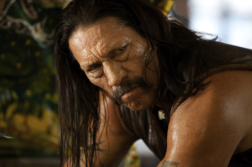 Courtesy of Joaquin Avellan Danny Trejo is MACHETE, a legendary ex-Federale with a deadly attitude and the skills to match.