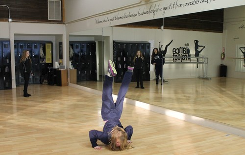 Rinna Waddhany | Special to The Salt Lake Tribune Dancers at the Dance Project SLC studio practice routines they will perform during fundraisers for the Utah Food Bank.