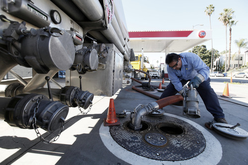 (AP Photo/Nick Ut) A heavy schedule of January maintenance at West Coast refineries has led to sharply higher prices there. Low inventories have pushed prices higher on the East Coast. And rising crude oil prices have pushed prices higher throughout the country.