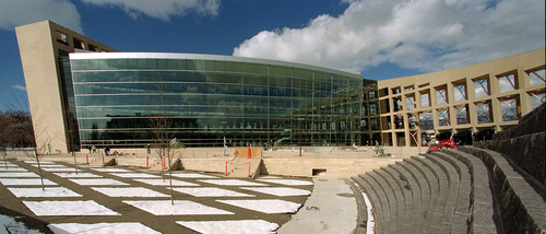Steve Griffin | Tribune file photo The Salt Lake City Main Library when it opened in 2003.