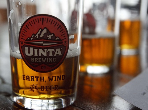 Leah Hogsten  |  The Salt Lake Tribune Uinta's Salt Lake City brewery is planning a $12 million expansion that will increase its current capacity from 45,000 barrels per year to 130,000 in the next few years, thanks to an already heady growth rate.