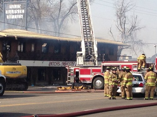 The Salt Lake Tribune  An early Wednesday fire destroyed the Patch's Majestic Metals building in Lindon.