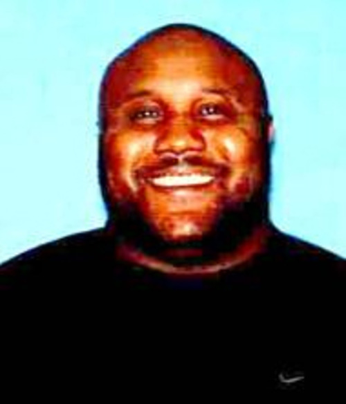 In this image provided by the Irvine, Calif., Police Department, former Los Angeles police officer Christopher Jordan Dorner is shown. A manhunt spread across southern California on Thursday, Feb. 7, 2013 for Dorner, a former Los Angeles police officer, who has threatened to kill police, is being sought in two weekend killings and is a suspect in an overnight shooting that killed one officer and critically wounded another. (AP Photo/Irvine Police Department)