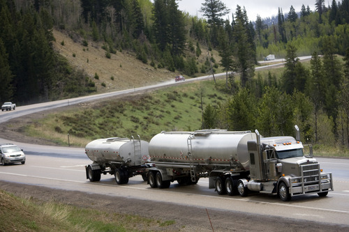 Kim Raff   The Salt Lake Tribune The study looked at how much oil and gas production could be lost over the next 30 years because of transportation bottlenecks.