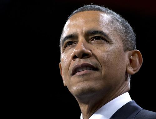 President Barack Obama speaks about immigration at Del Sol High School, Tuesday, Jan. 29, 2013, in Las Vegas. (AP Photo/Carolyn Kaster)