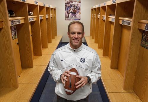 Trent Nelson  |  The Salt Lake Tribune Matt Wells, the new football coach at Utah State University. Friday December 28, 2012 in Logan.
