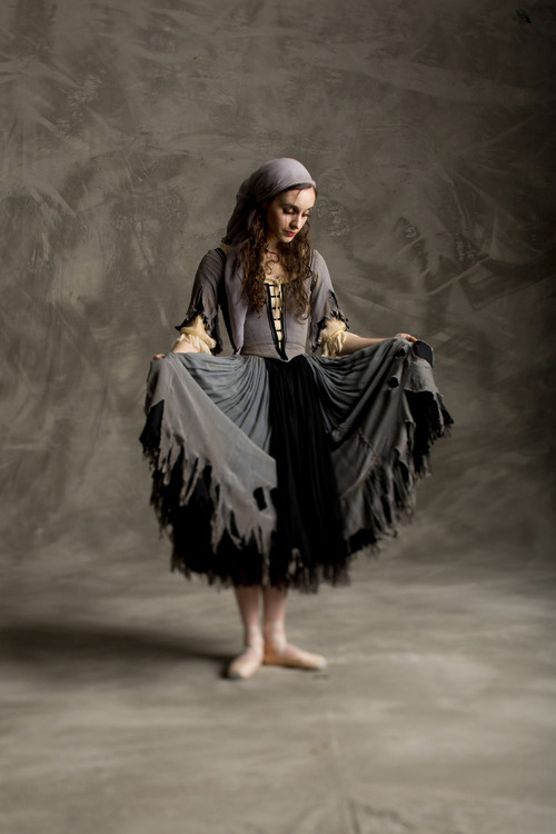 "Ballet West first soloist Arolyn Williams in Sir Frederick Ashton's ""Cinderella."" (Courtesy  Erik Ostling)"