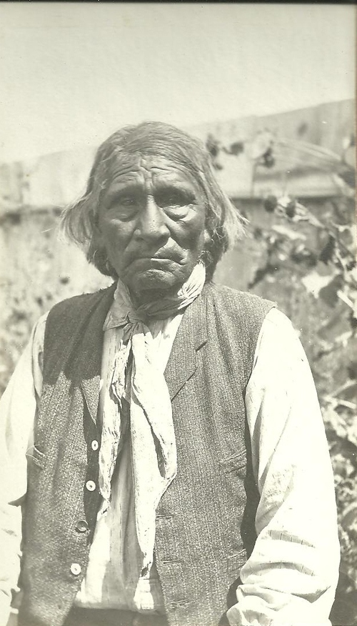 Members of the Ute tribe are seen on the Ute reservation in this collection of photos by Robert L. Marimon, Sr.  He homesteaded in the Whiterocks Canyon area in the early 1900s. Marimon's granddaughter, Nancy Martin, lived there from 1934-1955 and donated these photos to The Tribune. (Courtesy of Nancy Martin)