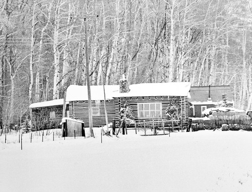 Tribune file photo  Pictured is the home of John Singer in Marion, Utah. Addam Swapp and 14 other family members and relatives holed up in the home during a standoff with law officers in January 1988.