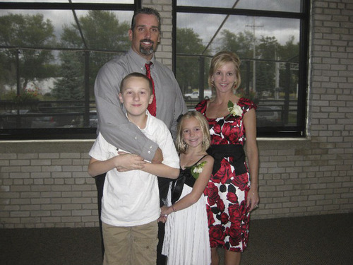 Courtesy photo Jim and Jodi Cech of Michigan and their children. They initially were told the baby they planned to adopt had been conceived after a one-night stand. They later learned the birth mom already had one child with the biological father and that he knew of the pregnancy and opposed the adoption.