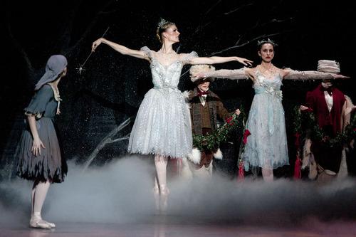 "Steve Griffin | The Salt Lake Tribune Ballet West dancers perform ""Cinderella"" in dress rehearsal on Feb. 13, 2013."