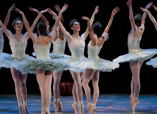 "Steve Griffin | The Salt Lake Tribune Ballet West dancers perform ""Cinderella"" at dress rehearsal on Feb. 13, 2013."