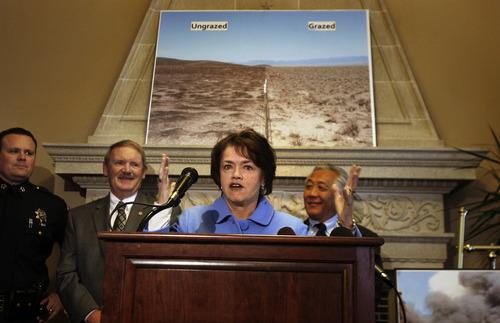 Scott Sommerdorf   |  The Salt Lake Tribune Sen. Margaret Dayton, R-Orem
