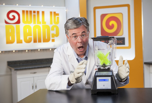 """Blentec CEO and host of """"Will It Blend?"""" YouTube videos, Tom Dickson."""