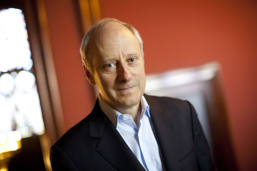 Courtesy | Stephanie Mitchell / Harvard Staff Photographer Michael Sandel is the Anne T. and Robert M. Bass Professor of Government at Harvard University, where he teaches political philosophy.