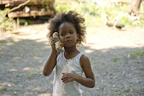 """Quvenzhane Wallis stars in """"Beasts of the Southern Wild."""" Courtesy Jess Pinkham  