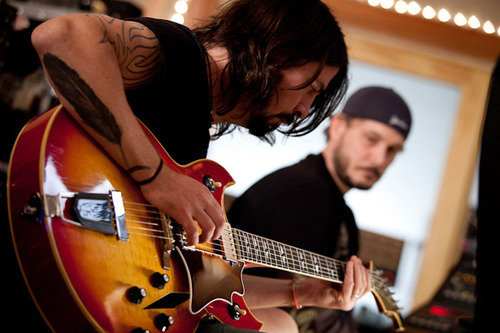 """Courtesy photo A scene from Dave Grohl's documentary """"Sound City,"""" part of the 2013 Sundance Film Festival."""