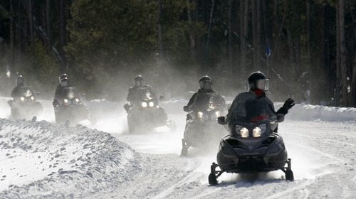 Tribune file photo The National Park Service on Friday released a winter use plan for Yellowstone National Park.