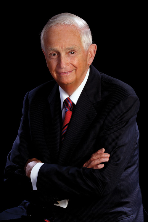 J.W. Marriott Jr., the CEO of Marriott International Inc., the company his father founded with a root beer stand in 1927. The hotel executive, who turns 80 on March 25, 2012, is stepping down as CEO but will remain at the company as chairman of the board. (AP Photo/Marriott International Inc.)
