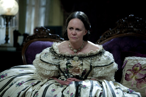 """This image released by DreamWorks II Distribution Co., LLC and Twentieth Century Fox Film Corporation shows Sally Field in a scene from """"Lincoln."""" Field was nominated  for an Academy Award for best supporting actress on Thursday, Jan. 10, 2013, for her role in """"Lincoln.""""  The 85th Academy Awards will air live on Sunday, Feb. 24, 2013 on ABC.   (AP Photo/DreamWorks II Distribution Co., LLC and Twentieth Century Fox Film Corporation, David James)"""
