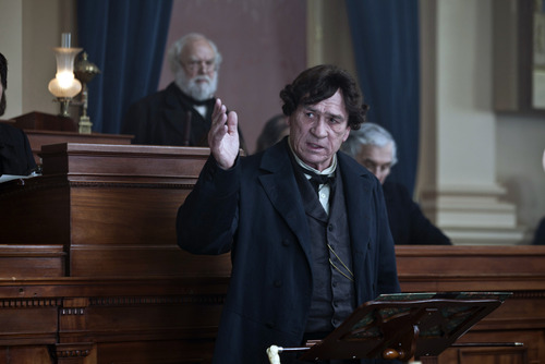 """This image released by DreamWorks II Distribution Co., LLC and Twentieth Century Fox Film Corporation shows Tommy Lee Jones in a scene from """"Lincoln.""""  Jones was nominated  for an Academy Award for best supporting actor on Thursday, Jan. 10, 2013, for his role in """"Lincoln.""""  The 85th Academy Awards will air live on Sunday, Feb. 24, 2013 on ABC.  (AP Photo/DreamWorks II Distribution Co., LLC and Twentieth Century Fox Film Corporation, David James)"""