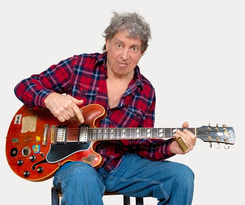Elvin Bishop. Courtesy image. The guitar legend performs Feb. 22-23, 2013, at the Egyptian Theatre in Park City.