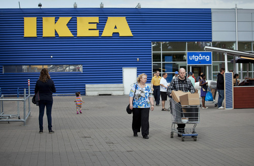 Casper Hedberg/Bloomberg Ikea moved to protect its brand last October when customers learned that women had been airbrushed out of pictures in the furniture company's Saudi Arabia catalog. The backlash caused Ikea to apologize.