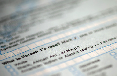 """This handout image obtained by The Associated Press shows question 9: """"What is Person 1's race"""", on the first page of the 2010 Census form, with options for White: Black, African Am., or Negro. After more than a century, the Census Bureau is dropping use of the word """"Negro"""" to describe black Americans in its surveys. Instead of the term popularized during the Jim Crow era of racial segregation, census forms will use the more modern-day labels, """"black"""" or """"African-American.""""   (AP Photo)"""