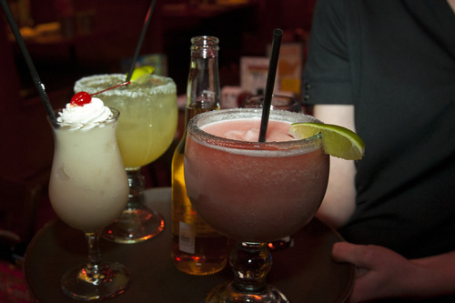 Chris Detrick  |  The Salt Lake Tribune The Utah House voted Monday Feb. 25, 2013, to clarify that Utah restaurant patrons may sip alcoholic beverages while looking at menus before actually ordering food.