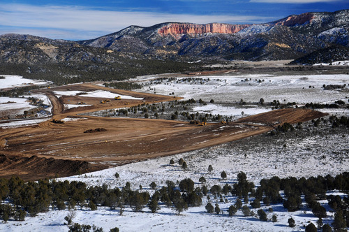 Alton Coal Development won in its bid to strip-mine coal on private land near Bryce Canyon National Park and now wants to extract legal costs from the Southern Utah Wilderness Alliance and other groups.  AP file photo