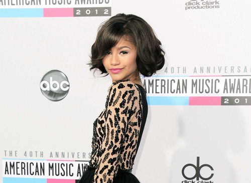 "FILE - This Nov. 18, 2012 file photo shows actress Zendaya Coleman at the 40th Anniversary American Music Awards in Los Angeles. Coleman  is one of eleven celebrity contestants who will compete on the next edition of ""Dancing with the Stars."" The new season kicks off on ABC with a two-hour premiere on March 18. (Photo by Jordan Strauss/Invision/AP, file)"
