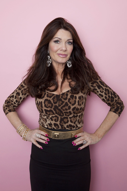 "FILE - This Jan. 7, 2013 file photo shows ""Real Housewives of Beverly Hills"" personality Lisa Vanderpump in New York. Vanderpump  is one of eleven celebrity contestants who will compete on the next edition of ""Dancing with the Stars."" The new season kicks off on ABC with a two-hour premiere on March 18. (Photo by Amy Sussman/Invision/AP, file)."