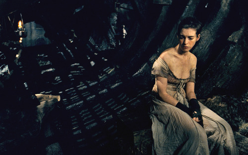 """This image released by Universal Pictures shows Anne Hathaway as Fantine in a scene from """"Les Misérables.""""  The costumes for the film were designed by Spanish designer Paco Delgado. (AP Photo/Universal Pictures)"""