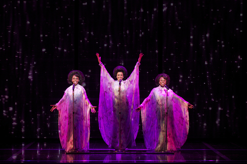 'Dreamgirls,' about the highs and lows of a 1960s singing girl group, comes to Capitol Theatre Feb. 5-10, 2013, as part of Broadway Across America's new season of touring musicals in Salt Lake City. Credit: Courtesy