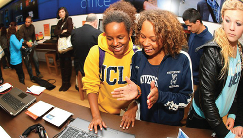Courtesy photo Microsoft is opening its first Utah store at the City Creek Center in downtown Salt Lake City.
