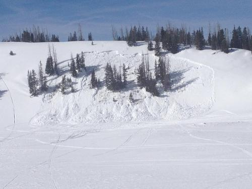 Courtesy of Utah Avalanche Center Snowmobiler James Paul Childs, 32, was killed Friday in an avalanche reportedly in the 12 Mile Canyon area on the southern end of the Manti Skyline.