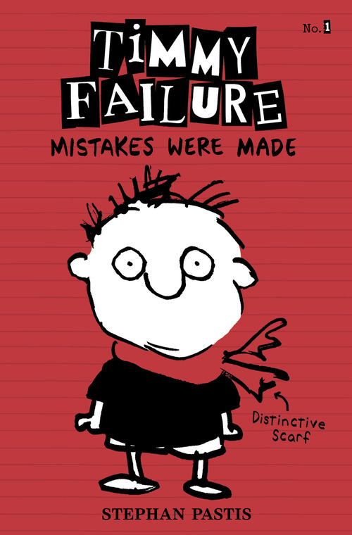 """Stephen Pastis' book """"Timmy Failure: Mistakes Were Made"""" follows the adventures of a """"really, really dumb"""" boy detective. Courtesy photo"""