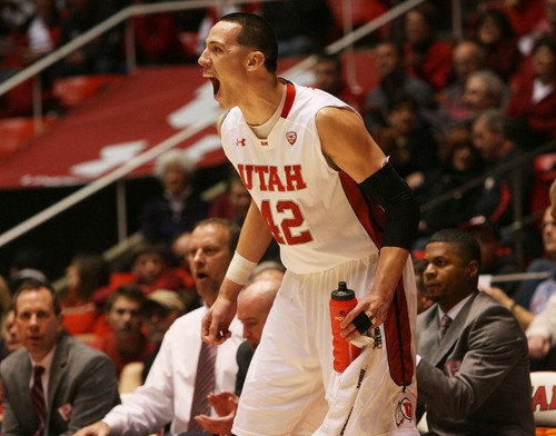 Kim Raff  |  The Salt Lake Tribune Utah center Jason Washburn says the Utes will have to be a lot better defensively against Oregon State on Thursday than they were in the teams' earlier meeting in Corvallis. The Beavers routed the Utes 82-64 in that game.