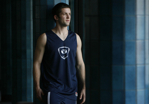 Francisco Kjolseth  |  The Salt Lake Tribune Senior guard Craig Cusick played his entire BYU basketball career without ever getting a scholarship.