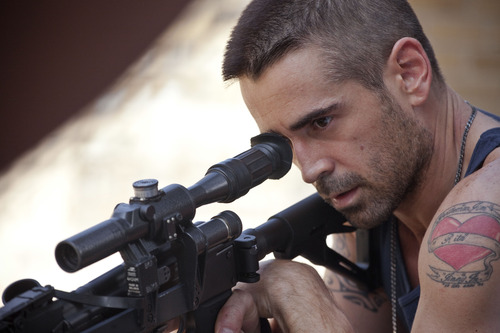 "Courtesy photo Colin Farrell stars in the revenge thriller ""Dead Man Down."""