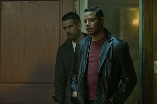 "Courtesy photo Colin Farrell, left, and Terrence Howard in ""Dead Man Down."""