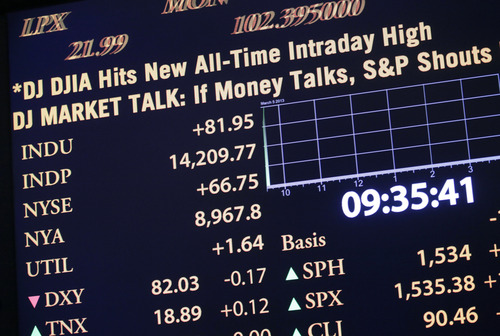 (AP Photo/Mark Lennihan) At the moment, the nearly four-year run of the U.S. stock market is the eighth-longest in the past 100 years, and it is the sixth-strongest, in terms of the return of the S&P's 500 index