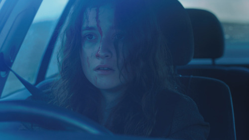 "| Courtesy Sundance Institute Alice Englert stars in the thriller ""In Fear,"" which will screen at the Sundance London Film and Music Festival."