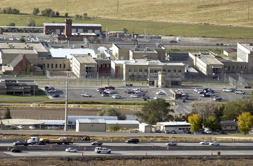 Paul Fraughton   Tribune file photo A state panel is reviewing the costs and benefits of moving the Utah State Prison from Draper's edge to another location.