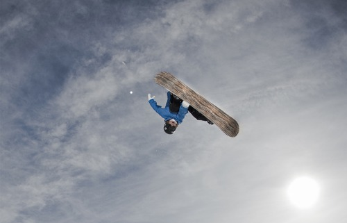 """Snowboarder Kevin Pearce is profiled in """"The Crash Reel,"""" premiering at the 2013 Sundance Film Festival. Courtesy Sundance Institute"""